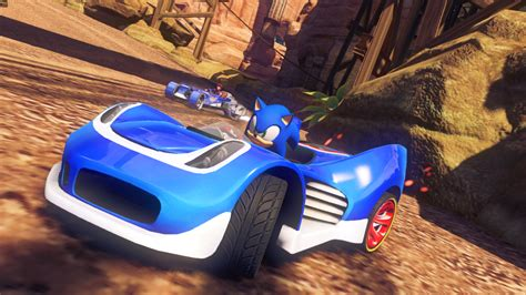 preview sonic  stars racing transformed