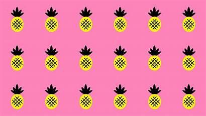 Desktop Wallpapers Computer Pineapple Backgrounds Summer Fun