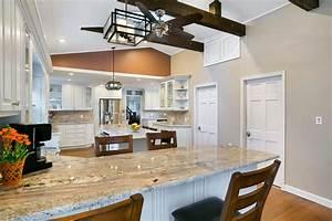 Beach Bungalow Kitchen Belmar New Jersey by Design Line
