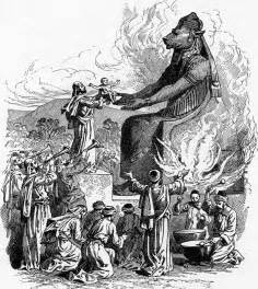 Image result for images of moloch
