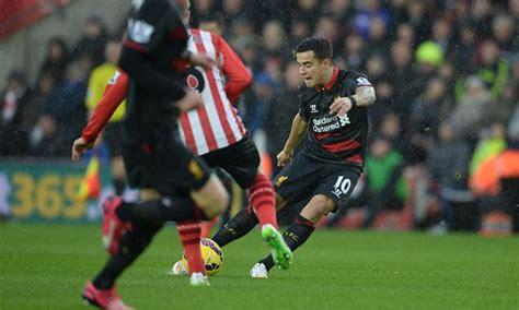 Southampton 0-2 Liverpool MATCH REPORT: Philippe Coutinho ...