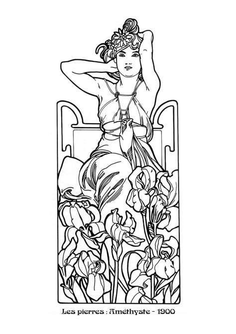 Alfons Mucha's Art Nouveau works | DVDbash in 2020 | Mucha
