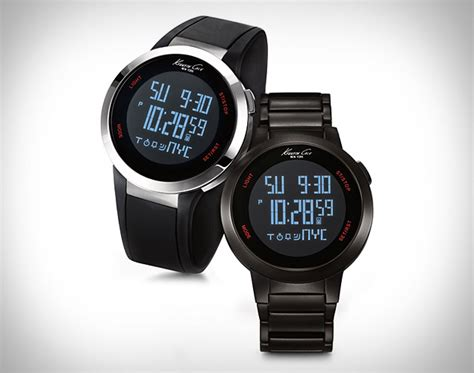 Kenneth Cole Touchscreen Watch Puts Finger-tapping On Your