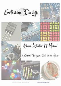 Arduino Starter Kit Manual  A Complete Beginners Guide To