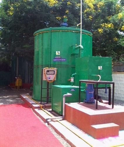 semi automatic food waste biogas plant mailhem ikos