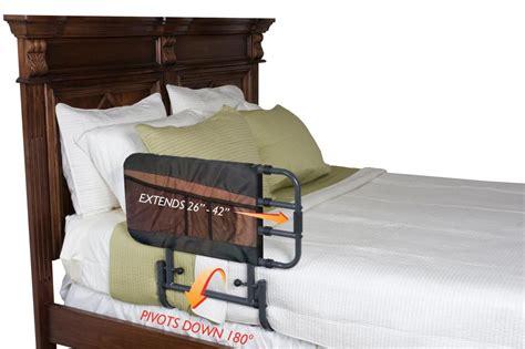 adjustable bed rail elderly safety guard bedrail secure