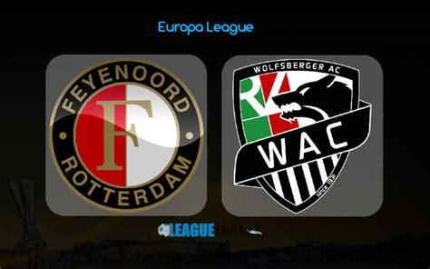 Feyenoord vs Wolfsberger Prediction, Betting Tips & Match ...
