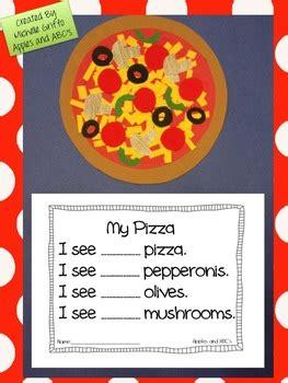 pizza math craftivity  michelle griffo  apples