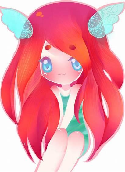 Anime Haired Chi Deviantart Flutter Fan