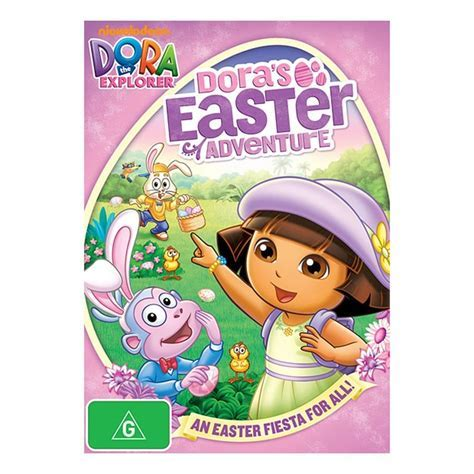Dora The Explorer Dora's Easter Adventure   DVD   Target