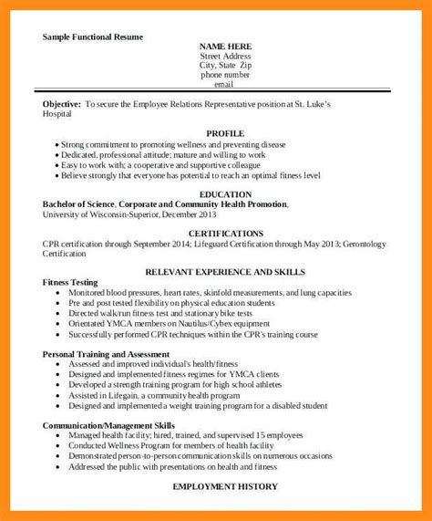 Personal Trainer Resume Exles by 11 12 Personal Trainer Objectives Resume