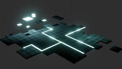 Platform Void Sci Fi Poly Models Low