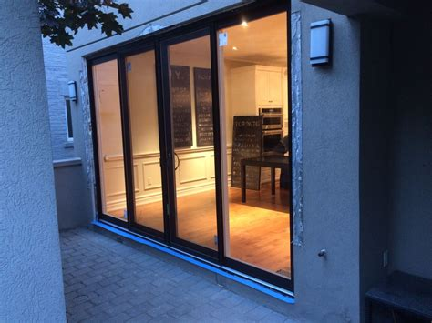 oversized modern exterior sliding patio doors  modern