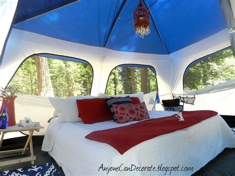 ultimate  camping tent decor glamping