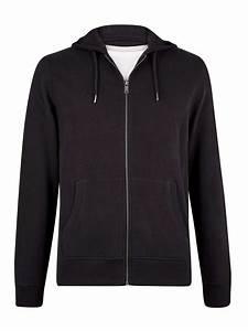 Black Zip Up Hoodie Mens Hoodies Sweatshirts