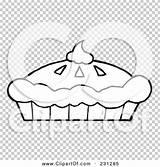 Pie Cream Whipped Pumpkin Outline Coloring Clipart Fresh Illustration Background Rf Royalty Clip Transparent sketch template