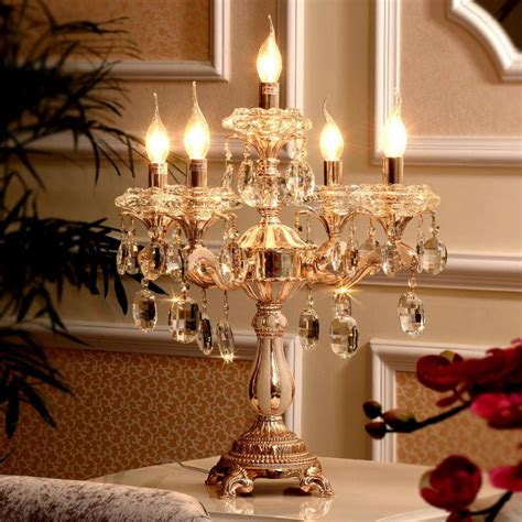 lights gold candle holders table lamp large wedding