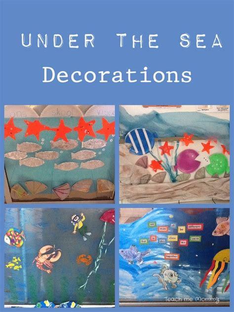 week   sea theme  teach  mommy