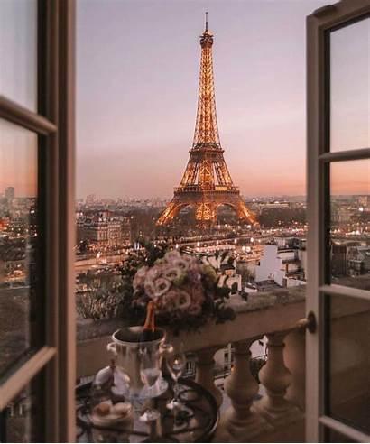 Paris Eiffel Travel Villa Aesthetic Tower Europe