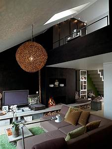 Small, Studio, Apartment, Design, With, Lots, Of, Cool, Ideas