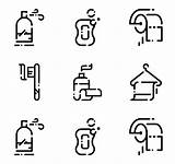 Hygiene Bathroom Toilet Icons Clipart Icon Vector Linear Transparent Elements Svg Packs Flaticon Webstockreview Water sketch template