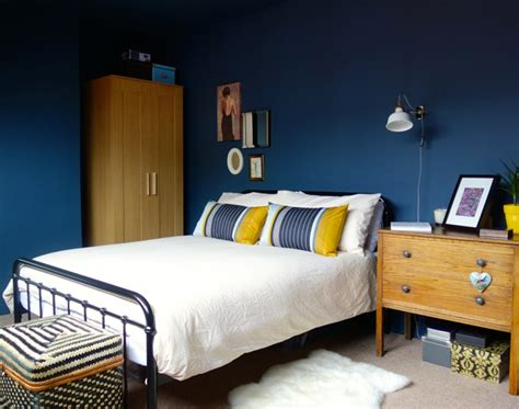 Blaue Wand Schlafzimmer by Schlafzimmer Blau 50 Blaue Schlafbereiche Die Schlaf