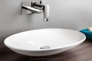vasque lavabo a poser large choix de taille matieres With salle de bain design avec vasque extra plate poser