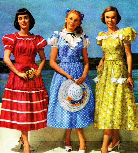 1940s Fashion Women And Girls Styles Trends And Pictures