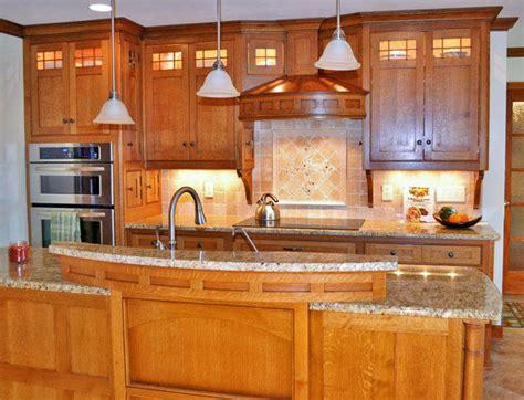 craftsman style kitchen traditional kitchen   kustom home design