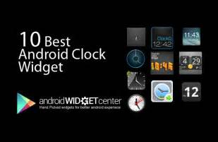 10 best android clock widgets april 2013
