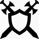 Shield Swords Sword Icon Defense Security Protection