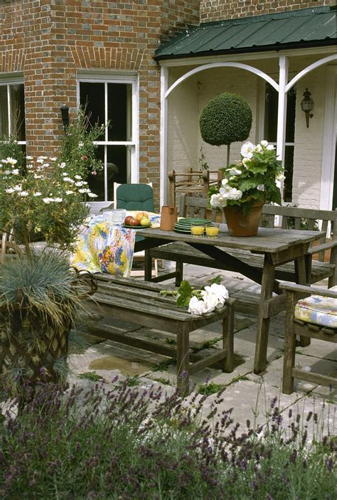 Outdoor Patio Garden by Country Patio Outdoor Patio Design Ideas Lonny