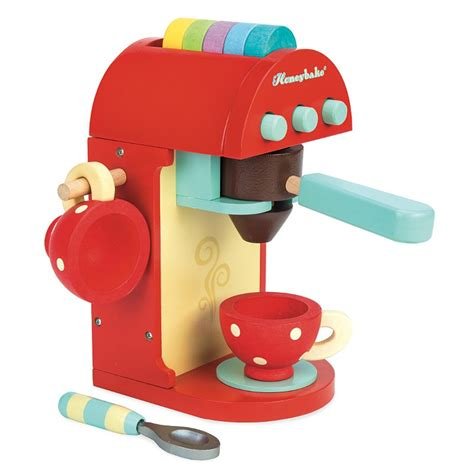 machine a cafe en bois dinette en bois machine caf 233 expresso honey bake le 174 ekobutiks 174 l ma boutique