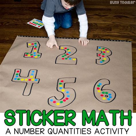 dot sticker math a preschool number sense activity 464 | numberdotstickerquantitiesSQUARES