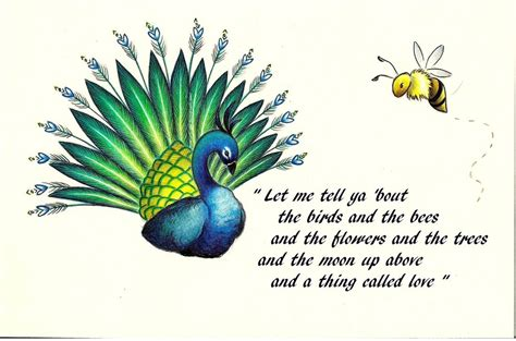about the birds and the bees i by l zee on deviantart