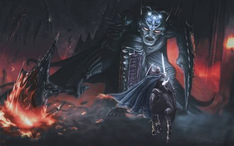 Lord Of The Rings Wallpapers Hd Morgoth And Fingolfin Wallpaper 1017545