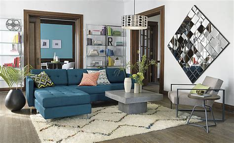 Peacock Blue Loveseat by 15 Modern Sofas To Help You Redecorate