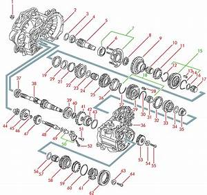 96 Jetta Transmission Diagram
