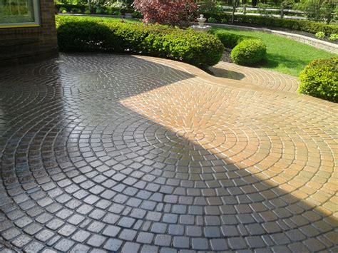 brick paver patios designs unique hardscape design