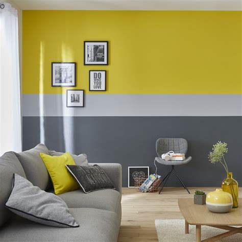 castorama peinture chambre les 25 meilleures idées de la catégorie gris bleu jaune