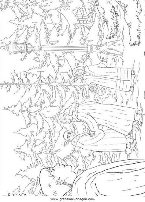 cronache  narnia  gratis malvorlage  comic