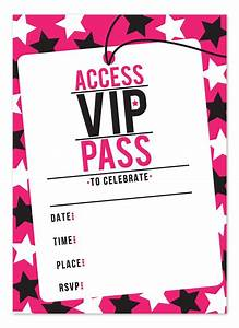 Free Vip Pass Template  39 Beautiful Photograph Of Free