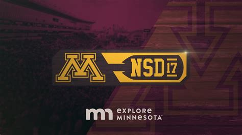 Row The Boat Minnesota Logo by Gopher Football 2017 National Signing Day Is February 1st