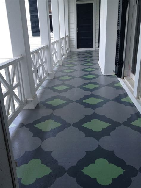 amazing ways  jazz   home  painted porch