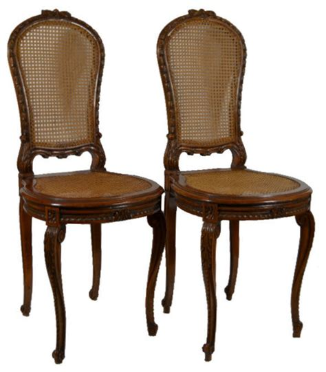 consigned 2 matching louis xv style carved wood and