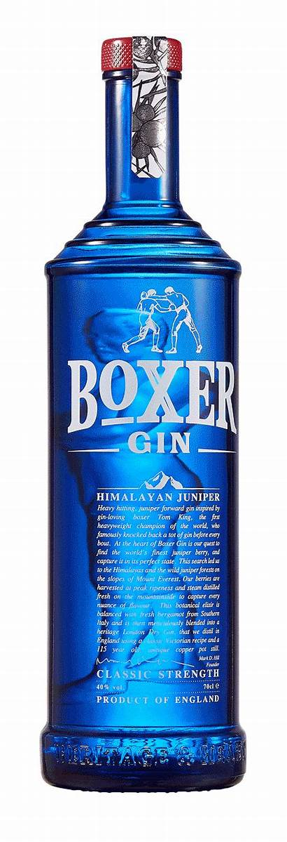 Bottle Gin Boxer Glass Welcome Allied Story
