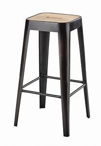 Tabouret Metal Ikea : sgabello da bar stile industriale in mango e metallo ~ Teatrodelosmanantiales.com Idées de Décoration