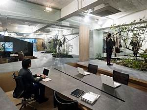 Office Furniture And Exhibition Space In A Minimalist