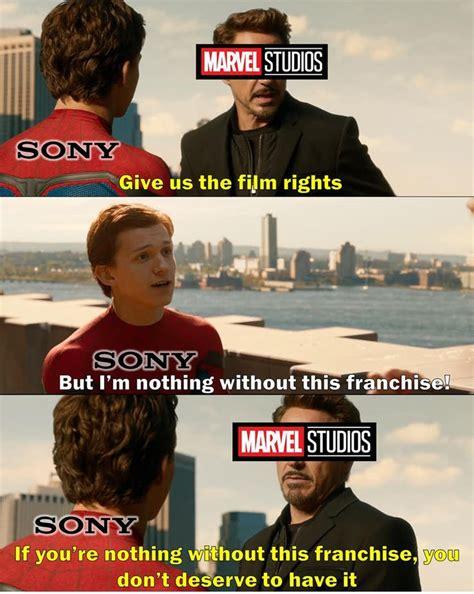 hilarious af spider man  iron man memes