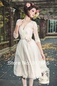 104 best tea length and vintage wedding dresses images on ...